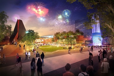 Yagan Square, Perth City Link